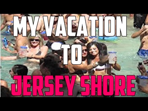 MY VACATION TO JERSEY SHORE!!!
