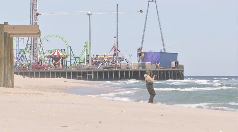 Brand New Roller Coaster at Jersey Shore's Casino Pier